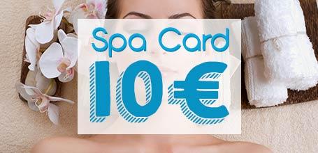 SPA card 10 euro