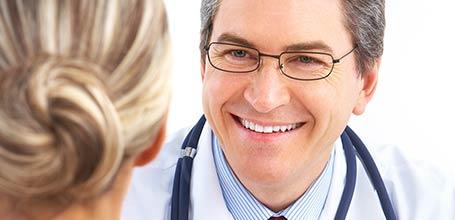 Consultazione e visita medica di ammissione